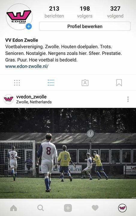 Bijna 200 volgers op Instagram! Als we net zoveel leden...